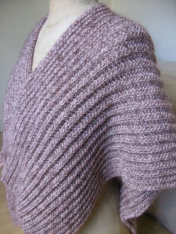 tricoter un poncho