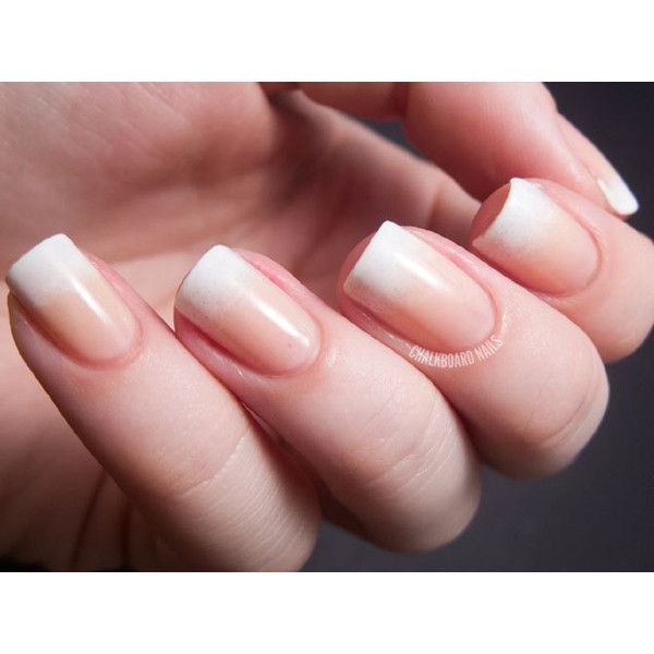 Wedding Nails – Polyvore…. like the natural look – #nails #Natural #Polyvore #…