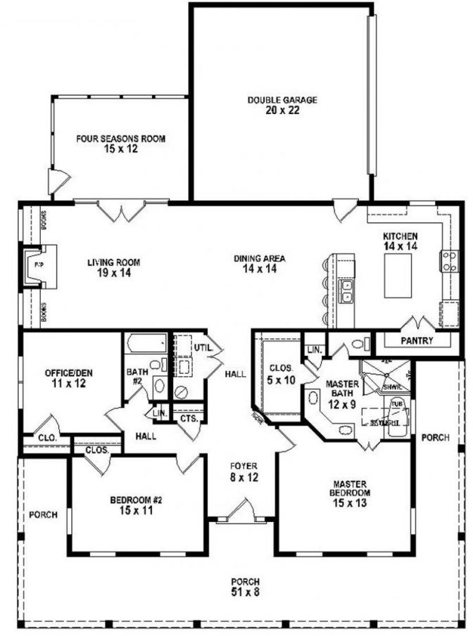 17 images about house plans small er on pinterest for Texas ranch house plans with porches