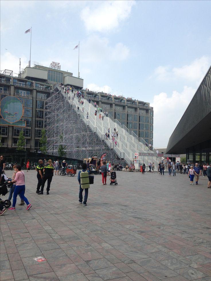 De trap bij centraal station