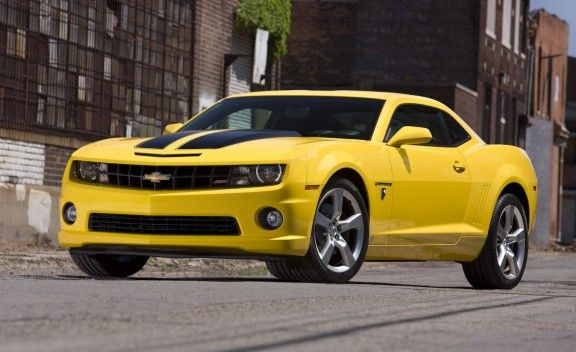 Bumble Bee transformer - Check out this cool transformers car - the Bumblebee 2010 Chevy Camaro Transformers Special Edition. The $995 appearance package can be applied to LT (V6) and SS-trim Camaros in Rally Yellow with or without the optional RS package.