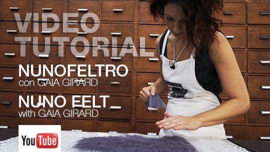 Video Tutorial per il Nuno Feltro con Gaia Girard - Dyeing House Gallery