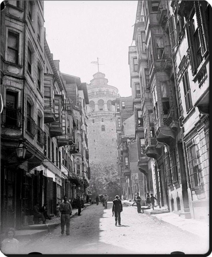 Galata Kulesi - 1919 (İşgal Yılları)