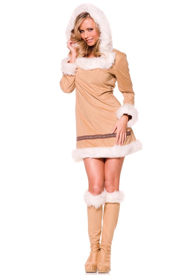 Sexy Eskimo Costume  Halloween  Eskimo Costume -8541