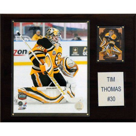 C Collectables NHL 12x15 Tim Thomas Boston Bruins Player Plaque