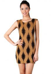 Something Borrowed Petite  Something Borrowed Petite Velvet Gold Lining Dresses Gold Black