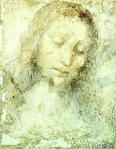 Leonardo da Vinci - Head of Christ