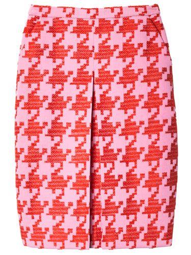 The BAZAAR: Haute Hues, J.Crew skirt.