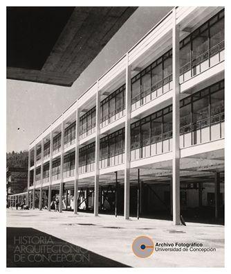 Instituto de Química de la Universidad de Concepción Arquitecto Emilio Duhart 1958 - 1959 (demolido el año 2010)