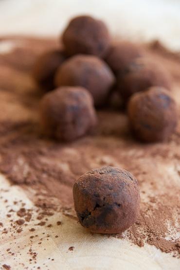 Taatelitryffelit / Chocochili