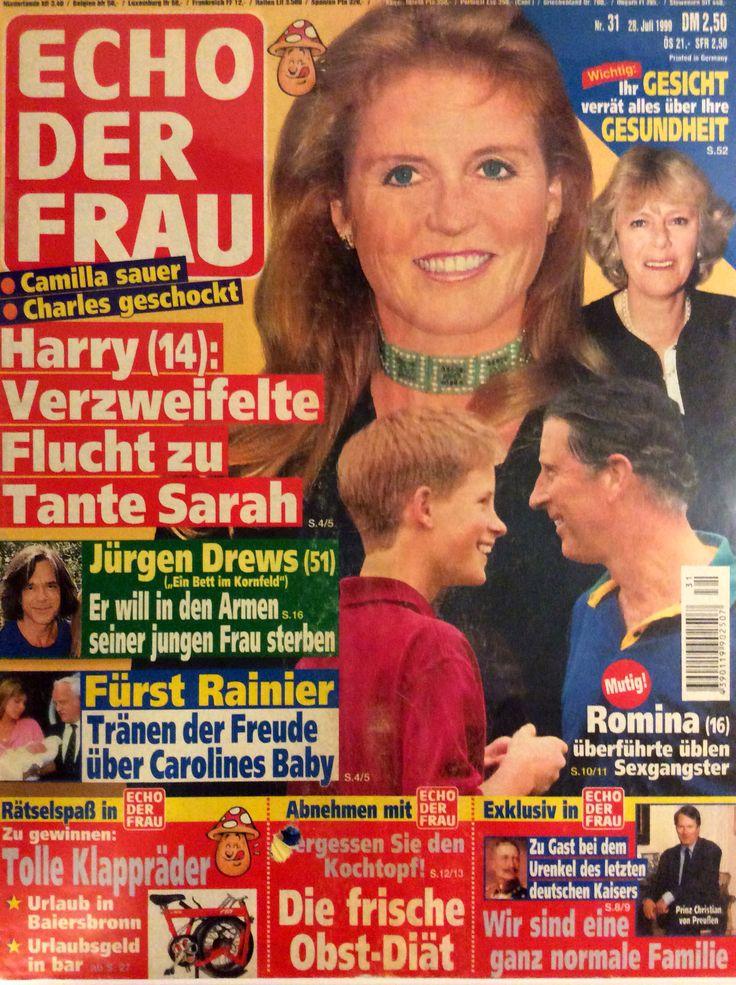 Echo der frau n. 31 - Sarah Duchess of York