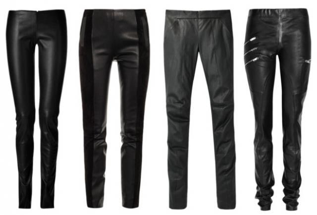 Купить кожаные брюки в москве
