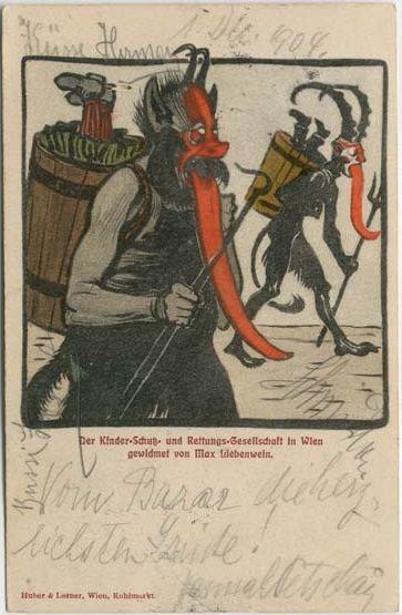 Krampus - Postcard
