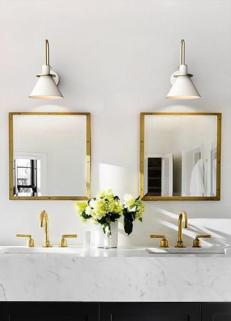 Brass Trumpet Modern Wall Light In 2020 Modern Wall Lights Wall Lights Bedroom Bathroom Lighting Design