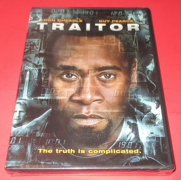 Traitor (DVD, 2008) NEW SEALED - Action [PG-13] Don Chaedle Guy Pearce #traitor #action #spythriller #doncheadle #movies #moviedvd http://stores.ebay.com/vinylrockretro/