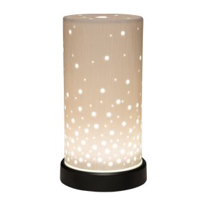 Be enlightened. Lift your spirit with #Aspire, a handcrafted, textured ceramic shade featuring varied pinholes that glow — like a warm, starry sky — to add another layer of aesthetic beauty to your perfect sensory experience. #ilovewickless #scentsy