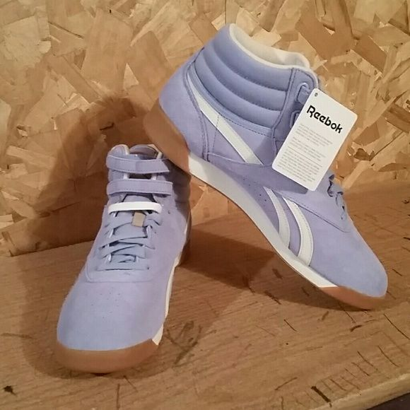 BRAND NEW Reebok Freestyle Classics Brand new with tags baby blue Reebok Freestyles. These are a women's 11 (men's 9.5). Please feel free to make an offer or let me know if you have any questions. I do not do trades, sorry. Reebok Shoes Athletic Shoes