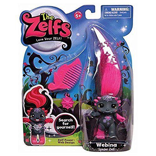 The Zelfs Medium Doll Series 3: Webina (Spider-Zelf) by The Zelfs, Toys & Games - Amazon Canada