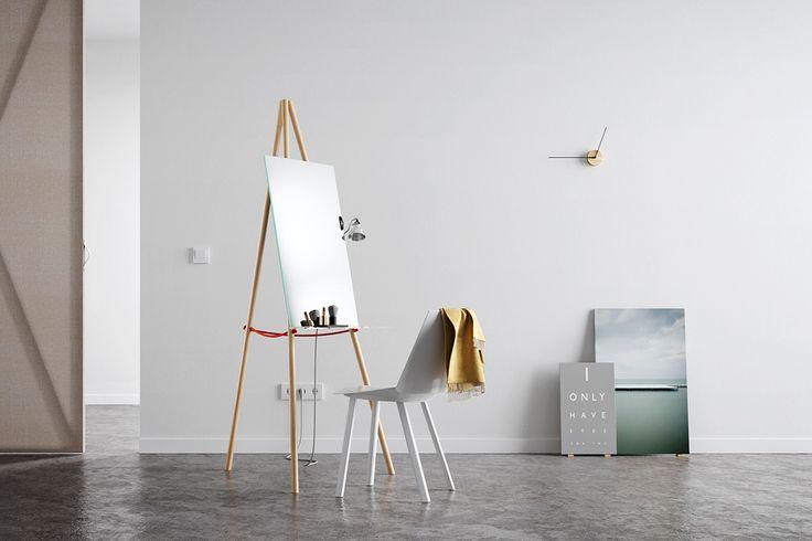 Mirror Me make up table by Viktor Pucsek