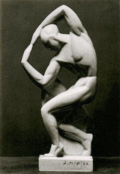 The Dancer Malkowsky  Joel  Jan Martel. c1925 Paris