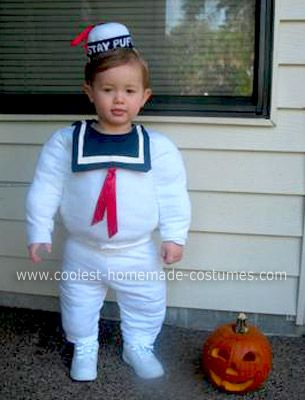 coolest ever homemade stay puft marshmallow man costume - Good Halloween Costumes For Big Guys