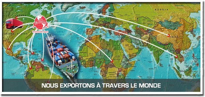 Drummond Export - Accueil