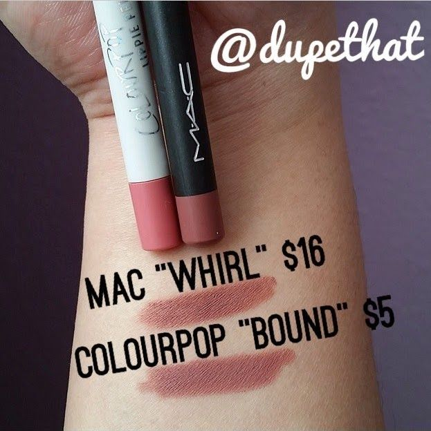 MAC Whirl Lip Liner Dupe | Dupethat
