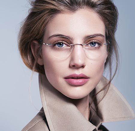Silhouette Glasögon reklamkampanj