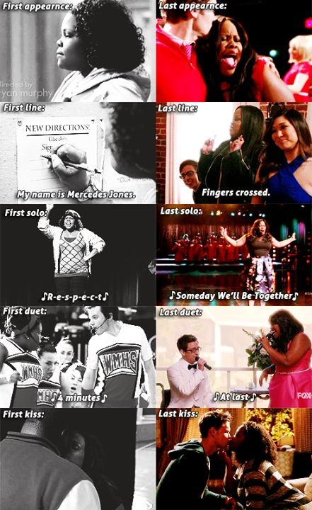 This just made me cry a lot. - Amber Riley as Mercedes Jones