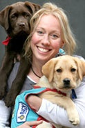 Tamsyn Lewis - Assistance Dogs Australia Ambassador - Australian athlete and middle distance runner