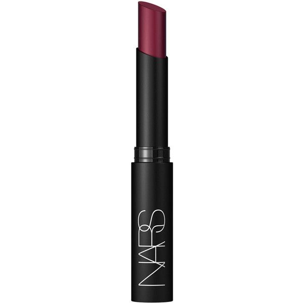Nars Pure Matte Lipstick in La Paz found on Polyvore featuring beauty products, makeup, lip makeup, lipstick, beauty, matte lipstick, nars cosmetics, matte finish lipstick and moisturizing lipstick