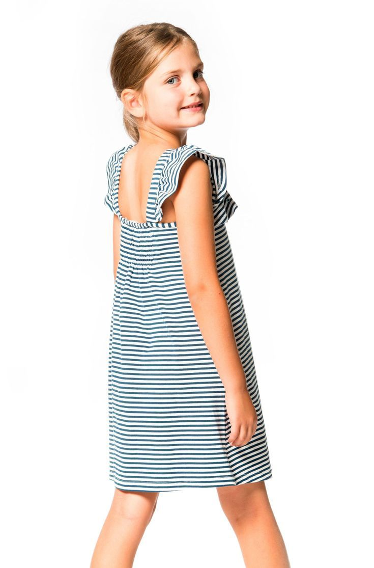f9584559cd21 High Style At Low Tide Striped Jersey Dress