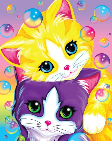 Lisa Frank used to be puppies and kittens and unicorns, now it's slutty looking cartoons. Why???