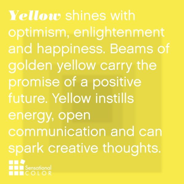 {Color Inspiration} Yellow