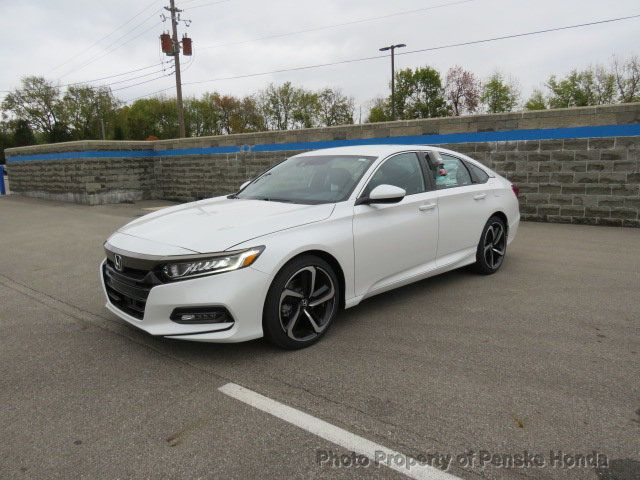 2018 Honda Accord Sport Cvt Port Cvt New 4 Dr Sedan Cvt Gasoline 1 5l 4 Cyl Platinum White Pearl 2018 Honda Accord Sport Accord Sport Honda Accord