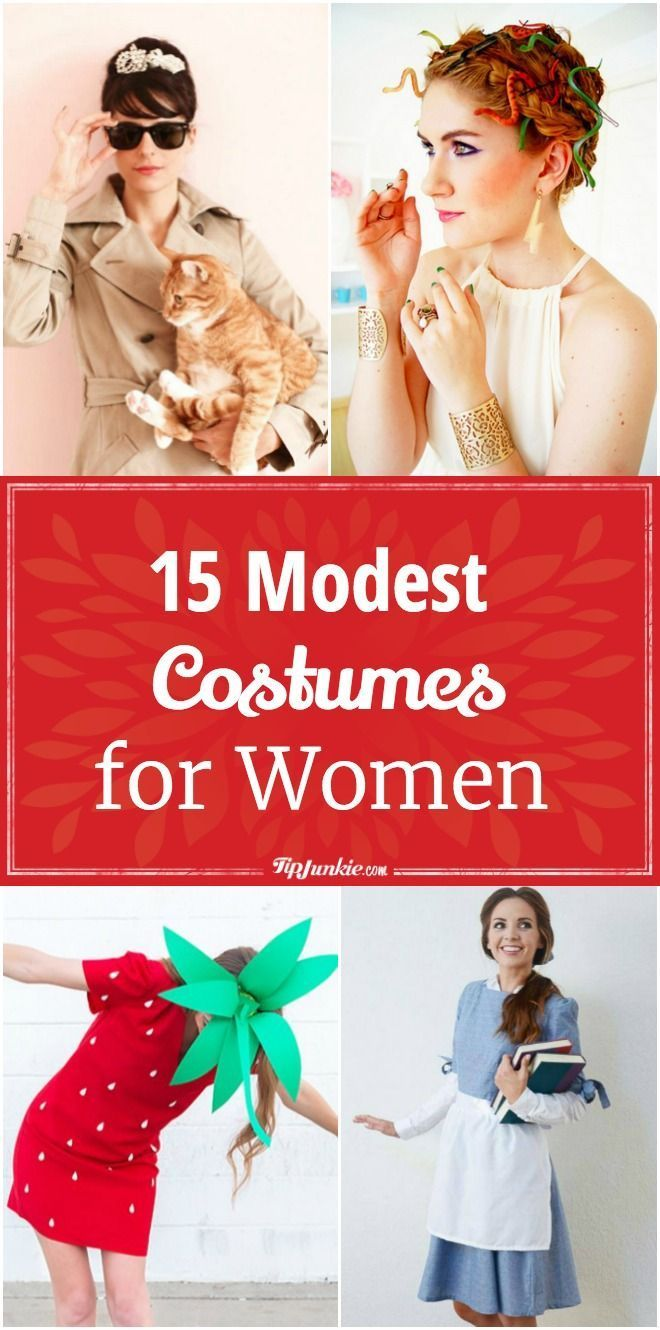 15 Modest Costumes for Women @TipJunkie