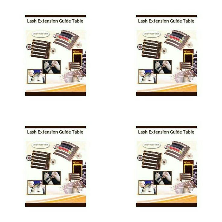 Lash Guide Table (5 stuks) Deze Lash guide table is super handig in gebruik. Je kunt de behandeling verkorten door de guide table op de hoofd te plakken maar je kunt hem ook op je hand plakken. Met de guide table zie je precies hoeveel extensions je per klant gebruikt. De guide table is herbruikbaar en gemakkelijk schoon te maken. De guide table is verpakt per 5 stuks.  Bij happywimperextensions.nl