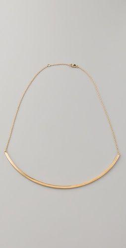 Jennifer Zeuner  Choker Chain Necklace  $220.00