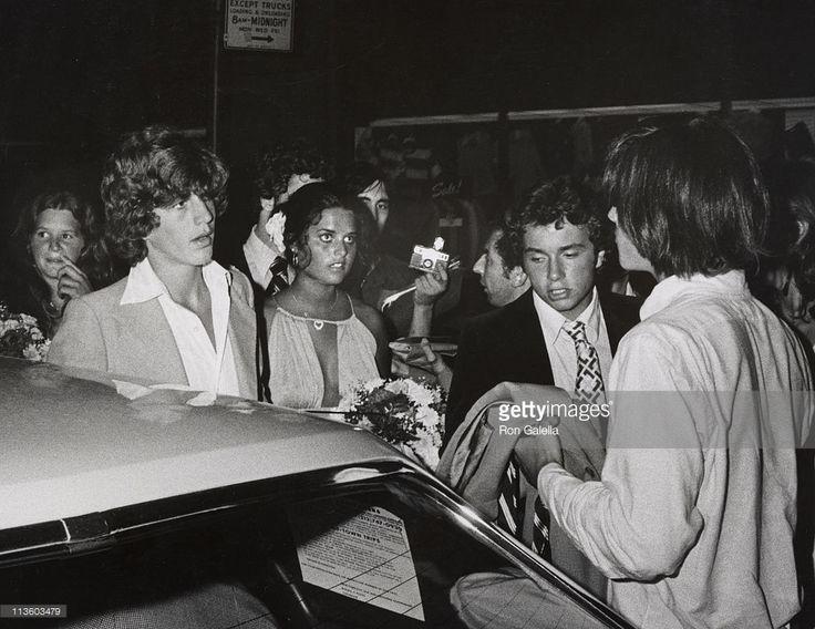 JFK Jr, Maria Shriver and Anthony Radziwill