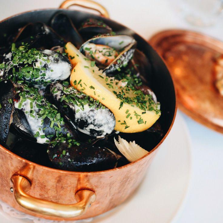Signature Dish,  Mussel White Wine   #sayidotokøbenhavn #Copenhagen #Denmark