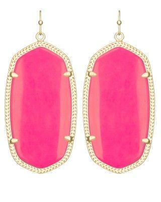 clothes sale cheap Danielle Earrings in Neon Pink   Kendra Scott Jewelry   jewelry      Kendra Scott  Neon and L  39 wren Scott