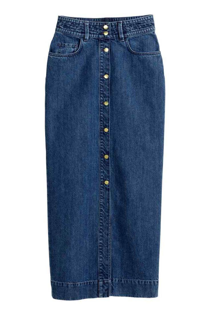 Jupe longue en jean  Jeans