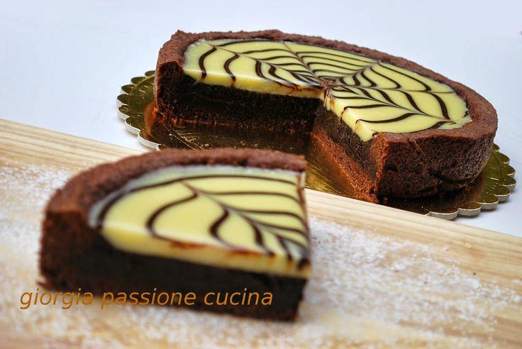 giorgia passione cucina: torta mocaccina di Ernst Knam