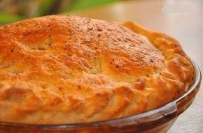 Лучшего теста для наливных пирогов просто не бывает! Основное его преимущество — тесто без майонеза, а на кефире.