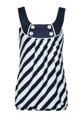 блузки, футболки и майки в морском стиле