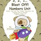 3, 2, 1, Blast Off! Numbers Unit Working with Numbers  Unit (1-120) Worksheets and Centers Includes:*Sequence the numbers 1-120 learning center ... $
