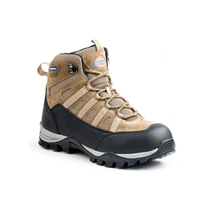 Dickies Escape EH Men's Steel-Toe Hiking Boots, Size: 8.5, Brown, Durable