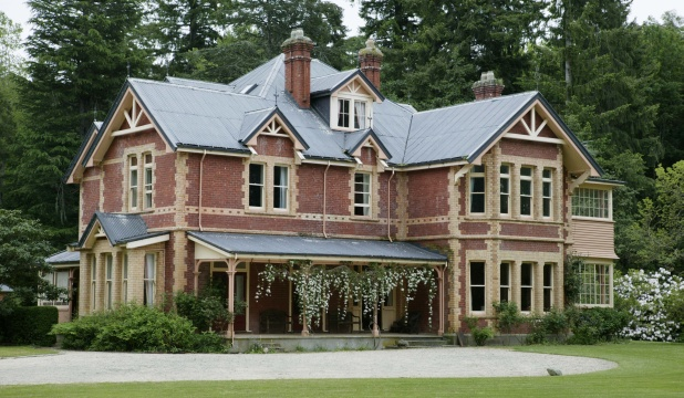 Homebush homestead in all its glory, pre-earthquake, nr. Christchurch, NZ