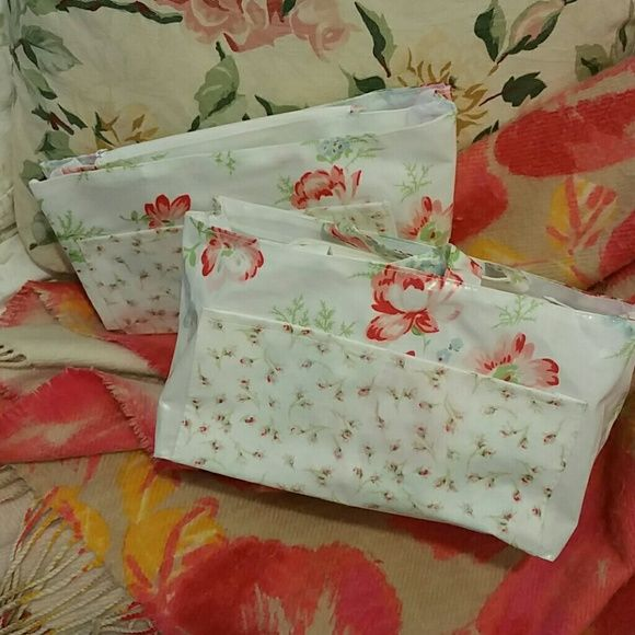 Victorian Inspired Toiletry Organizers (2) (NWOT) Pretty & functional - this…