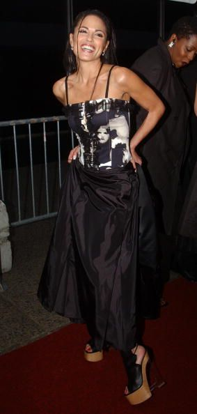Terri Ivens arrives for the '30th Annual Daytime Emmy Awards' May 16 2003 at Radio City Music Hall in New York City